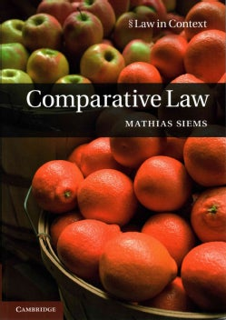 Comparative Law (Paperback)