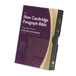 The New Cambridge Paragraph Bible: Black Calfskin, Personal Size (Paperback)