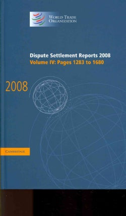Dispute Settlement Reports 2008 (Hardcover)