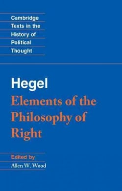 Elements of the Philosophy of Right (Paperback)
