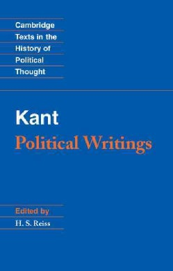 Kant Political Writings: Political Writings (Paperback)