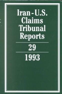 Iran-U.S. Claims Tribunal Reports 1993 (Hardcover)
