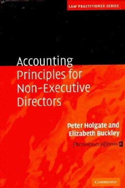 Accounting Principles for Non-Executive Directors (Hardcover)