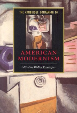 The Cambridge Companion To American Modernism (Paperback)