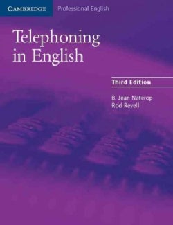 Telephoning in English (Paperback)