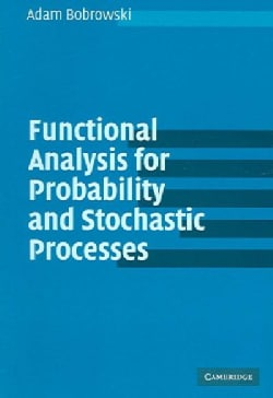 Functional Analysis For Probability And Stochastic Processes: An Introduction (Paperback)