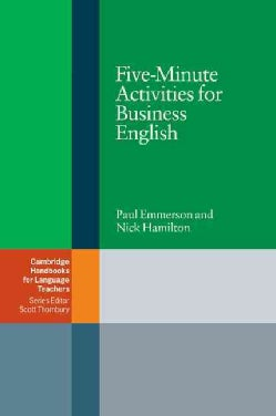 Five Minute Activities For Business English (Paperback)