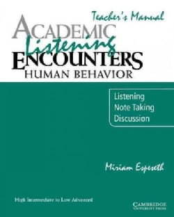 Academic Listening Encounters: Listening, Notetaking and Discussion (Paperback)