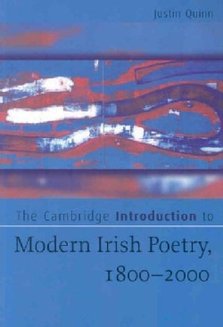 The Cambridge Introduction to Modern Irish Poetry, 1800-2000 (Paperback)