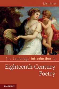 The Cambridge Introduction to Eighteenth-Century Poetry (Paperback)