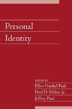 Personal Identity (Paperback)