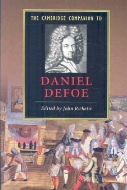 The Cambridge Companion to Daniel Defoe (Paperback)