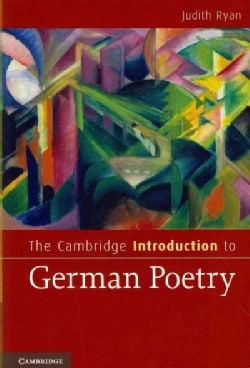 The Cambridge Introduction to German Poetry (Paperback)