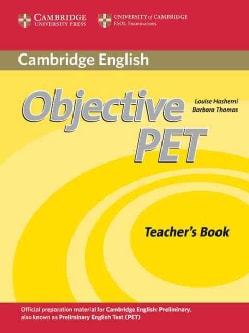 Objective Pet: Teachers Book (Paperback)