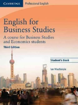 English for Business Studies: A Course for Business Studies and Economics Students (Paperback)