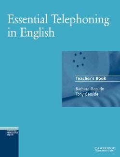 Essential Telephoning in English Teacher's Book (Paperback)