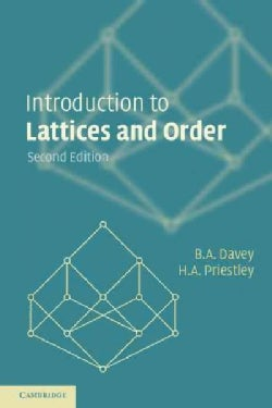 Introduction to Lattices and Order (Paperback)