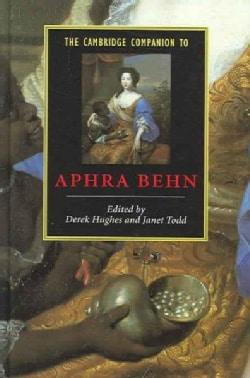 The Cambridge Companion To Aphra Behn (Hardcover)