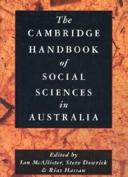 The Cambridge Handbook of Social Sciences in Australia (Hardcover)