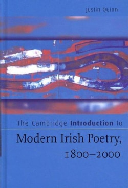 The Cambridge Introduction to Modern Irish Poetry, 1800-2000 (Hardcover)