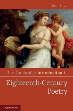 The Cambridge Introduction to Eighteenth-Century Poetry (Hardcover)