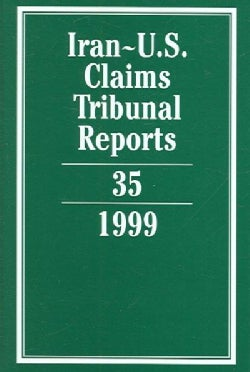 Iran-United States Claims Tribunal Reports (Hardcover)