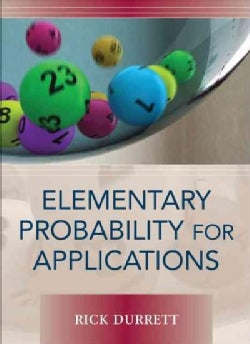 Elementary Probability for Applications (Hardcover) - Thumbnail 0