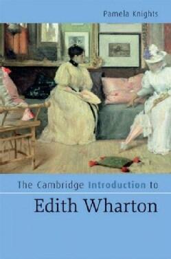 The Cambridge Introduction to Edith Wharton (Hardcover)