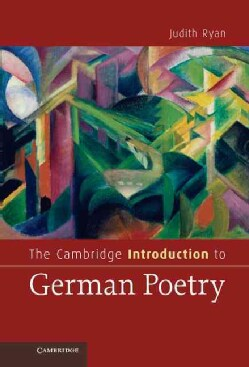 The Cambridge Introduction to German Poetry (Hardcover)