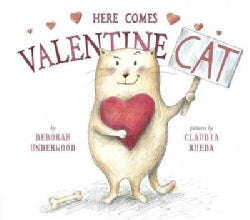 Here Comes Valentine Cat (Hardcover)