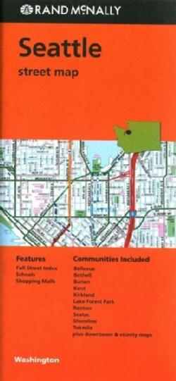 Rand McNally Seattle Street Map (Sheet map, folded)