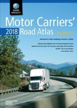 Rand McNally 2018 Motor Carriers' Road Atlas United States, Canada, Mexico (Paperback)