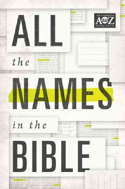 All the Names in the Bible (Paperback)