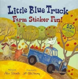 Little Blue Truck Farm Sticker Fun! (Paperback)
