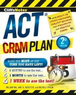 CliffsNotes ACT Cram Plan (Paperback)