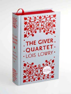 The Giver Quartet: The Giver / Gathering Blue / Messenger / Son (Hardcover)