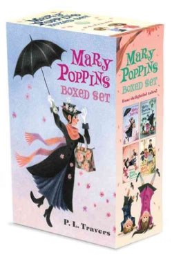 Mary Poppins Boxed Set: Mary Poppins / Mary Poppins Comes Back / Mary Poppins Opens the Door / Mary Poppins in th... (Paperback)