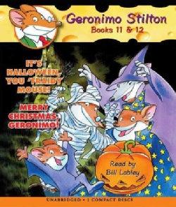It's Halloween, You 'fraidy Mouse! / Merry Christmas, Geronimo! (CD-Audio)