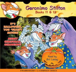 It's Halloween, You 'fraidy Mouse! / Merry Christmas, Geronimo!: Library Edition (CD-Audio)