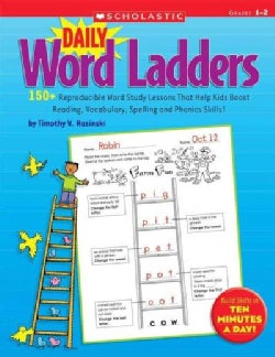 Daily Word Ladders: Grades 1-2 (Paperback)