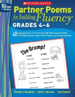Partner Poems for Building Fluency: 40 Engaging Poems for Two Voices With Motivating Activities That Help Student... (Paperback)