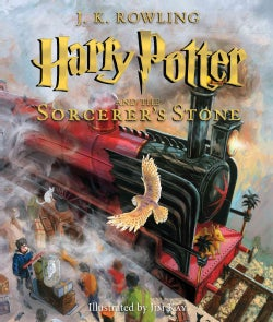 Harry Potter and the Sorcerer's Stone: The Illustrated Edition (Hardcover)