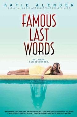 Famous Last Words (Paperback)
