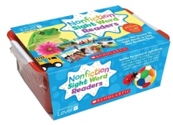 Nonfiction Sight Word Readers Classroom Tub, Level B, Grades PreK-1: Teaches the Second 25 Sight Words to Help New Readers Soar!