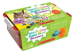 Nonfiction Sight Word Readers Classroom Tub, Level C, Grades PreK-1: Teaches the Third 25 Sight Words to Help New Readers Soar!
