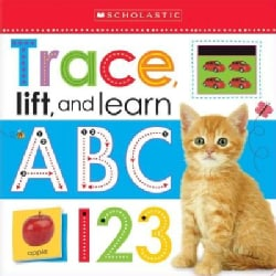 Trace, Lift, and Learn: ABC 123 (Board book)