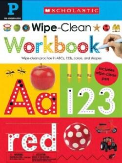 Wipe Clean Workbooks, Pre-Kindergarten: Included Wipe Clean Pen (Paperback)