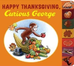Happy Thanksgiving, Curious George (Board book)