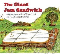 The Giant Jam Sandwich (Board book)