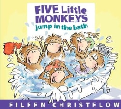 Five Little Monkeys Jump in the Bath (Board book)